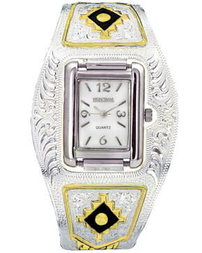 Montana Silversmiths Southwest Cuff Watch, Multi, hi-res