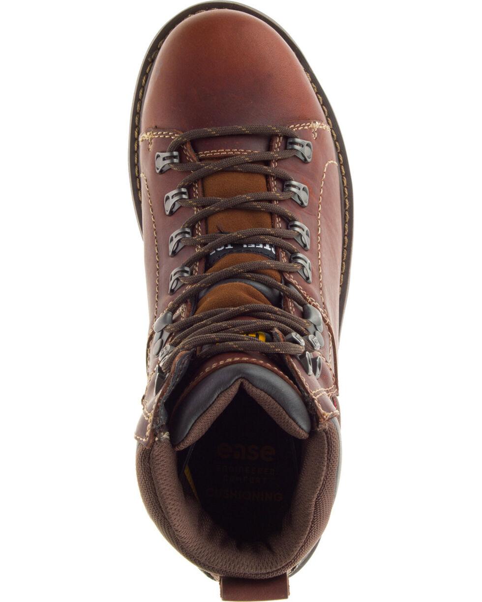"""CAT Men's Alaska 6"""" Steel Toe Work Boots, Brown, hi-res"""