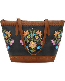 Bandana by American West Women's Maya Zip Top Tote, , hi-res