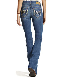 Ariat Women's Turquoise Impression Bootcut Jeans, , hi-res