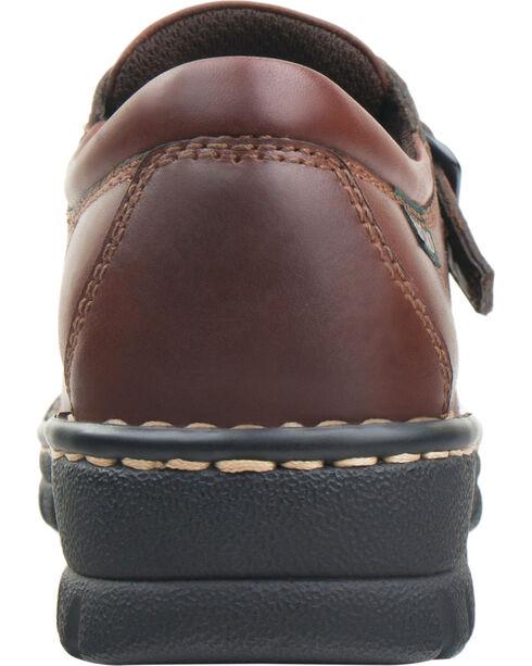 Eastland Women's Brown Syracuse Slip-Ons, Brown, hi-res