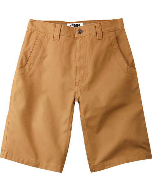 """Mountain Khakis Men's Alpine Relaxed Fit Utility Shorts - 7"""" Inseam, Brown, hi-res"""
