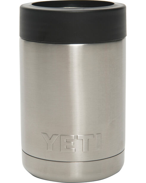 YETI Rambler Colster Stainless Steel Koozie, Silver, hi-res