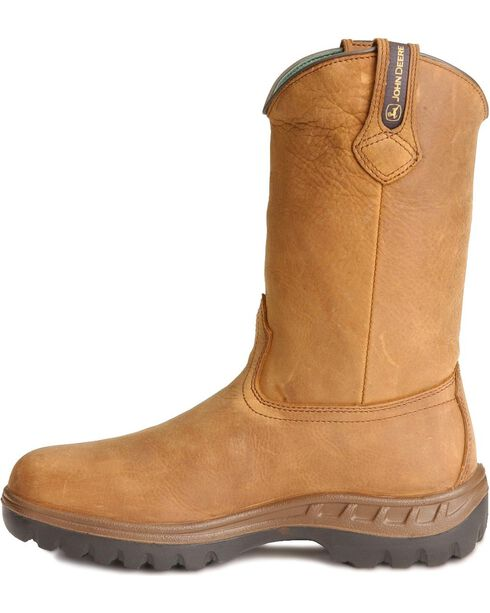 John Deere® Men's WCT Waterproof Work Boots, Tan, hi-res