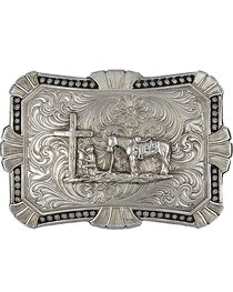 Montana Silversmiths Trailblazer Buckle, , hi-res