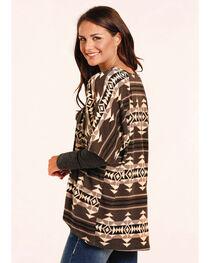 Panhandle Women's Aztec Geometric Cardigan , , hi-res