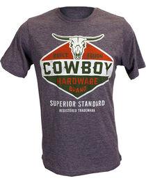 Cowboy Hardware Men's Built Tough Tee, , hi-res