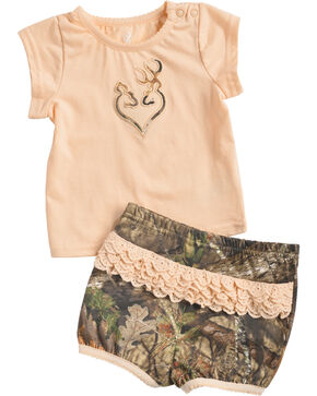 Browning Infant Girls' Stardust Set , Camouflage, hi-res