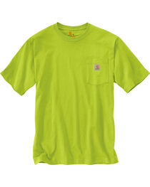 Carhartt Men's Short Sleeve Pocket Work T-Shirt, , hi-res