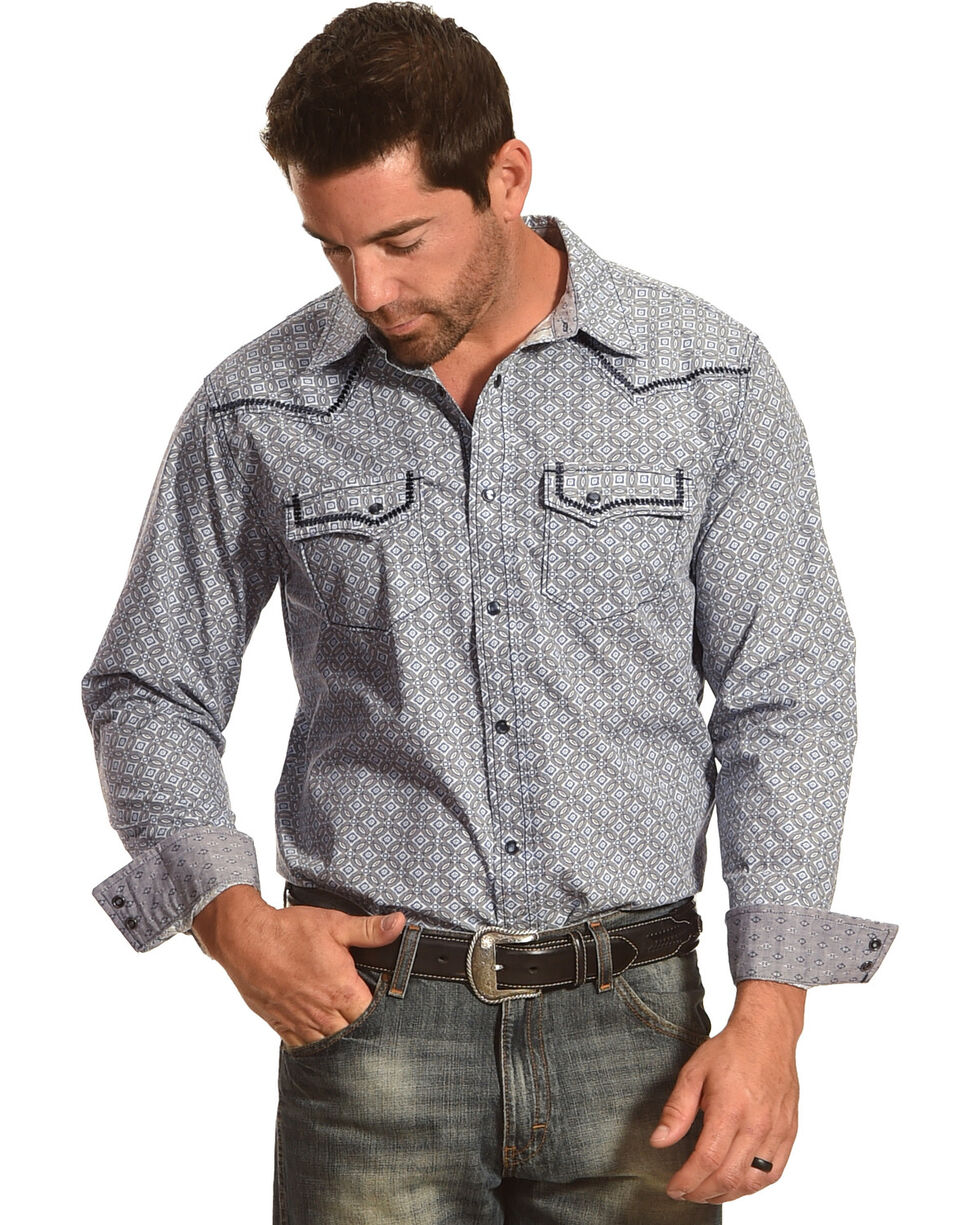 Cody James® Men's Las Cruces Long Sleeve Shirt, , hi-res