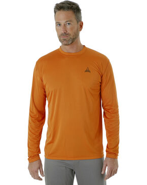 Wrangler Men's Rugged Wear All-Terrain T-Shirt , Orange, hi-res