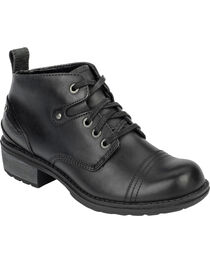 Eastland Women's Black Overdrive Ankle Boots, , hi-res