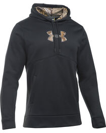 Under Armour Men's Icon Caliber Hoodie, Black, hi-res
