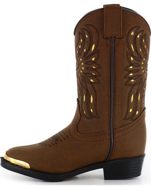 Cody James® Children's Phoenix Western Boots, Brown, hi-res
