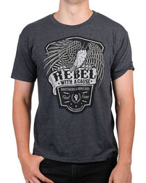 Brothers & Arms Men's Rebel With A Cause Graphic Tee, , hi-res