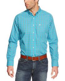 Ariat Men's Plaid Printed Button Down Long Sleeve Shirt, , hi-res