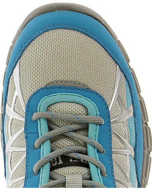Caterpillar Women's Blue Connexion Work Shoes - Steel Toe , Blue, hi-res