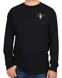 Cody James® Men's Saloon Graphic Long Sleeve Tee, , hi-res