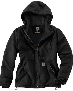 Carhartt Women's Full Swing Cryder Jacket , Black, hi-res