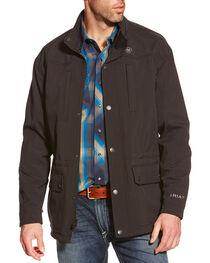 Ariat Men's Bozeman Softshell Jacket, Black, hi-res