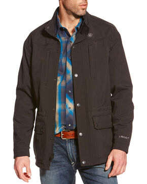 Ariat Men's Bozeman Softshell Jacket, Black, hi-res