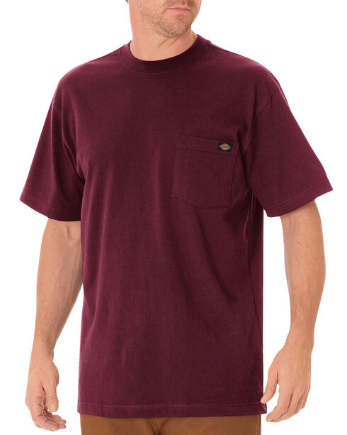 Dickies Heavyweight T-Shirt - Big & Tall, Burgundy, hi-res