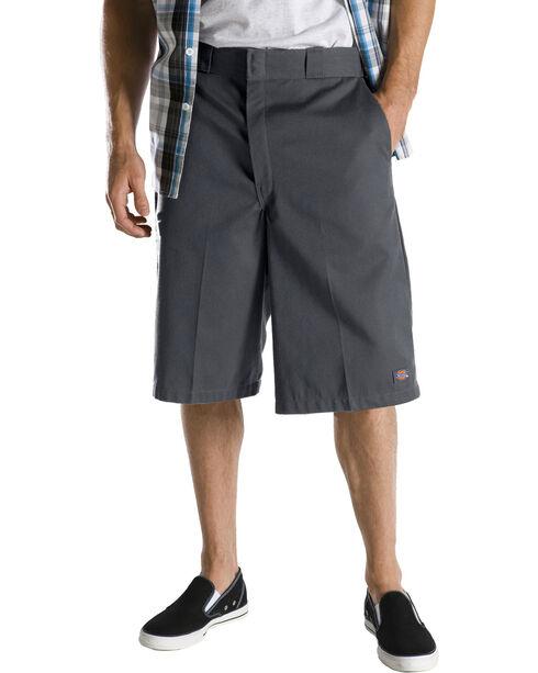 "Dickies 13"" Loose Fit Multi-Pocket Shorts - Big & Tall, Charcoal Grey, hi-res"