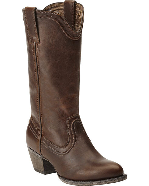Ariat Women's Bluebell Classic Western Boots, Dark Brown, hi-res
