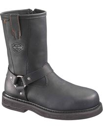 Harley-Davidson Men's Bill Steel Toe Motorcycle Boots, , hi-res