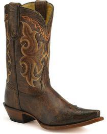 Tony Lama Women's Wingtip Vaquero Collection Western Boots, , hi-res