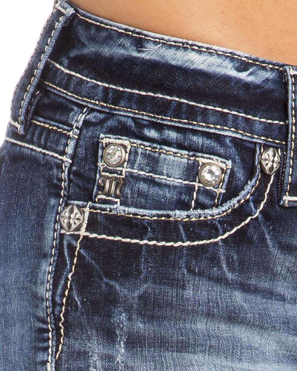 Miss Me Women's Rise Up Mid-Rise Shorts, , hi-res