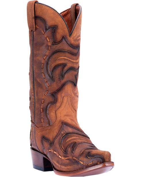 Dan Post Henley Western Boots, Tan, hi-res