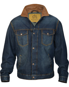 STS Ranchwear Men's The Jumper Jacket, Indigo, hi-res