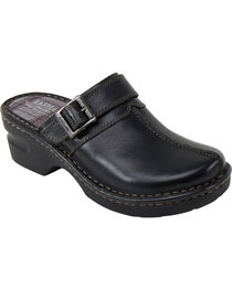 Eastland Women's Black Mae Clogs, , hi-res