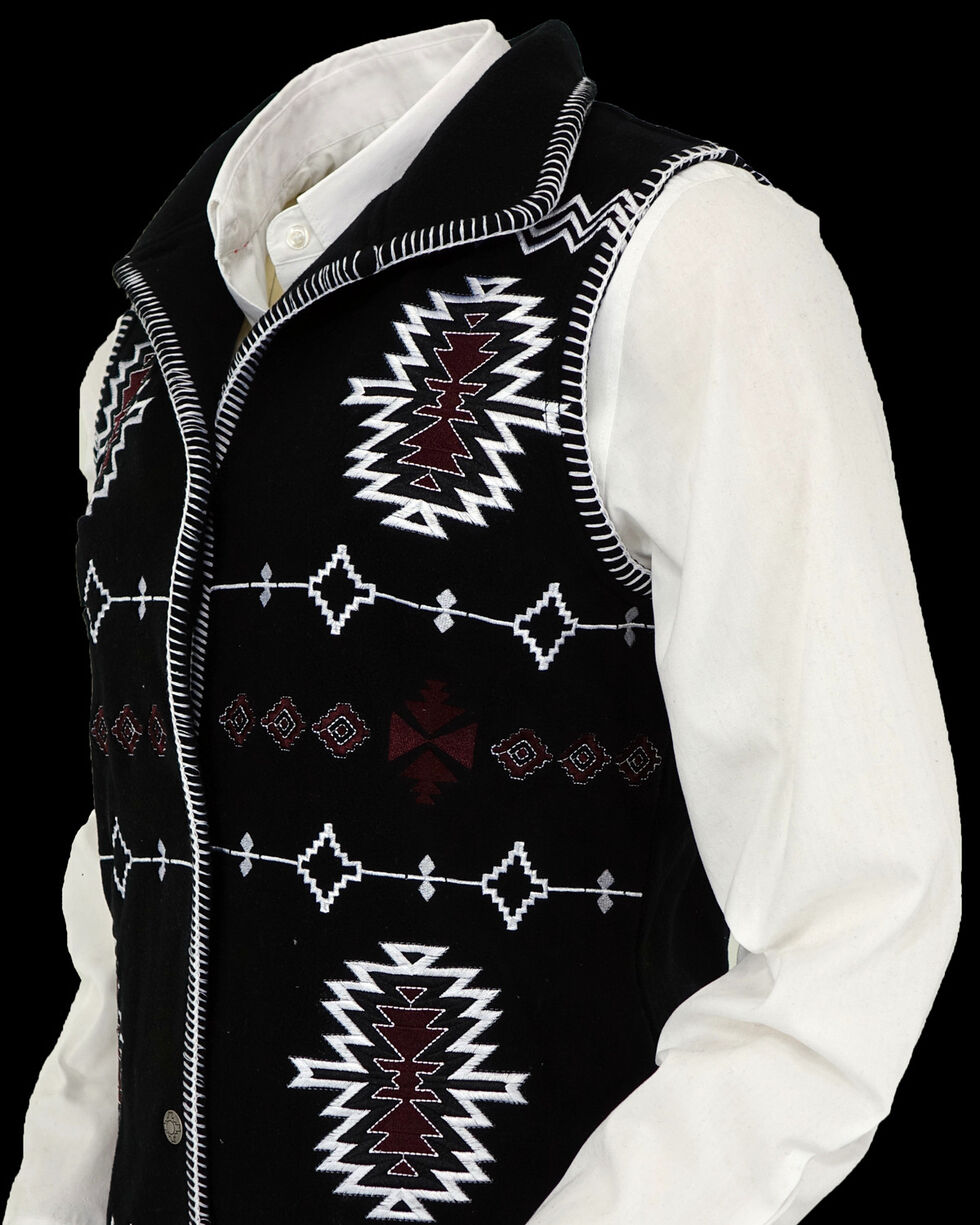 Outback Trading Co. Women's Black Santa Fe Vest , Black, hi-res