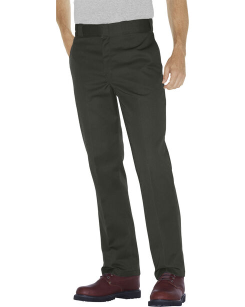 Dickies Men's Original 874® Work Pants, Olive Green, hi-res