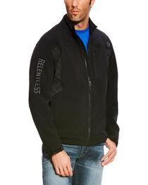 Ariat Men's Black Relentless Willpower Softshell Jacket , , hi-res