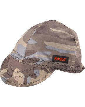 Rasco Men's Grey Camo Non-FR Welding Cap , Grey, hi-res