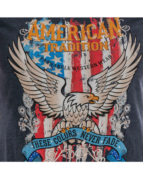 Panhandle Women's American Tradition T-Shirt, Navy, hi-res