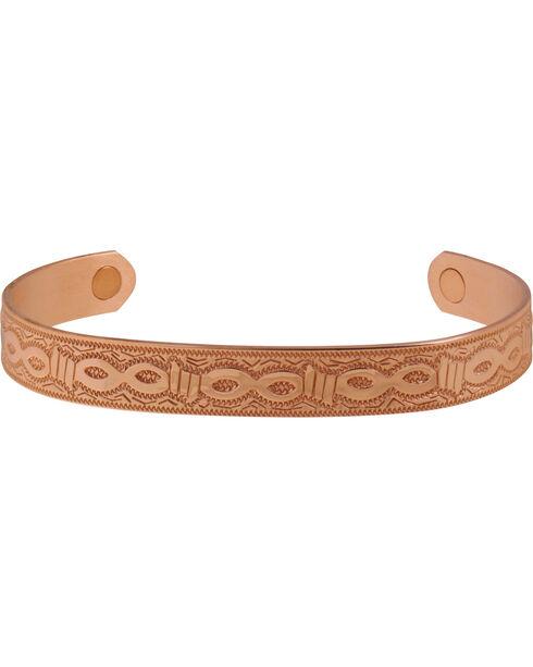 Sabona Men's Copper Barb Magnetic Wristband, Copper, hi-res