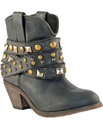 Corral Women's Urban Studded Strap Fashion Boots, , hi-res