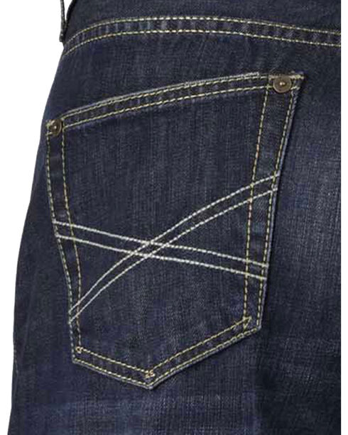 Stetson Men's Premium Modern Fit Boot Cut Jeans, Denim, hi-res