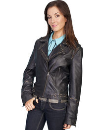 Scully Lambskin Motorcycle Jacket, , hi-res