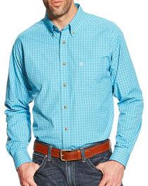 Ariat Men's Olten Long Sleeve Performance Shirt, , hi-res