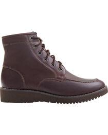 Eastland Women's Dark Walnut Dakota Lace-Up Boots, , hi-res