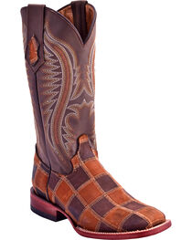 Ferrini Women's Maverick Patch Western Boots - Square Toe, , hi-res