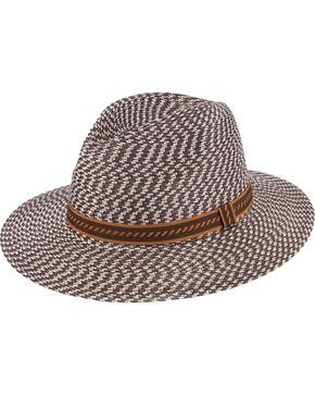 Peter Grimm Urbain Flat Brim Hat, Brown, hi-res