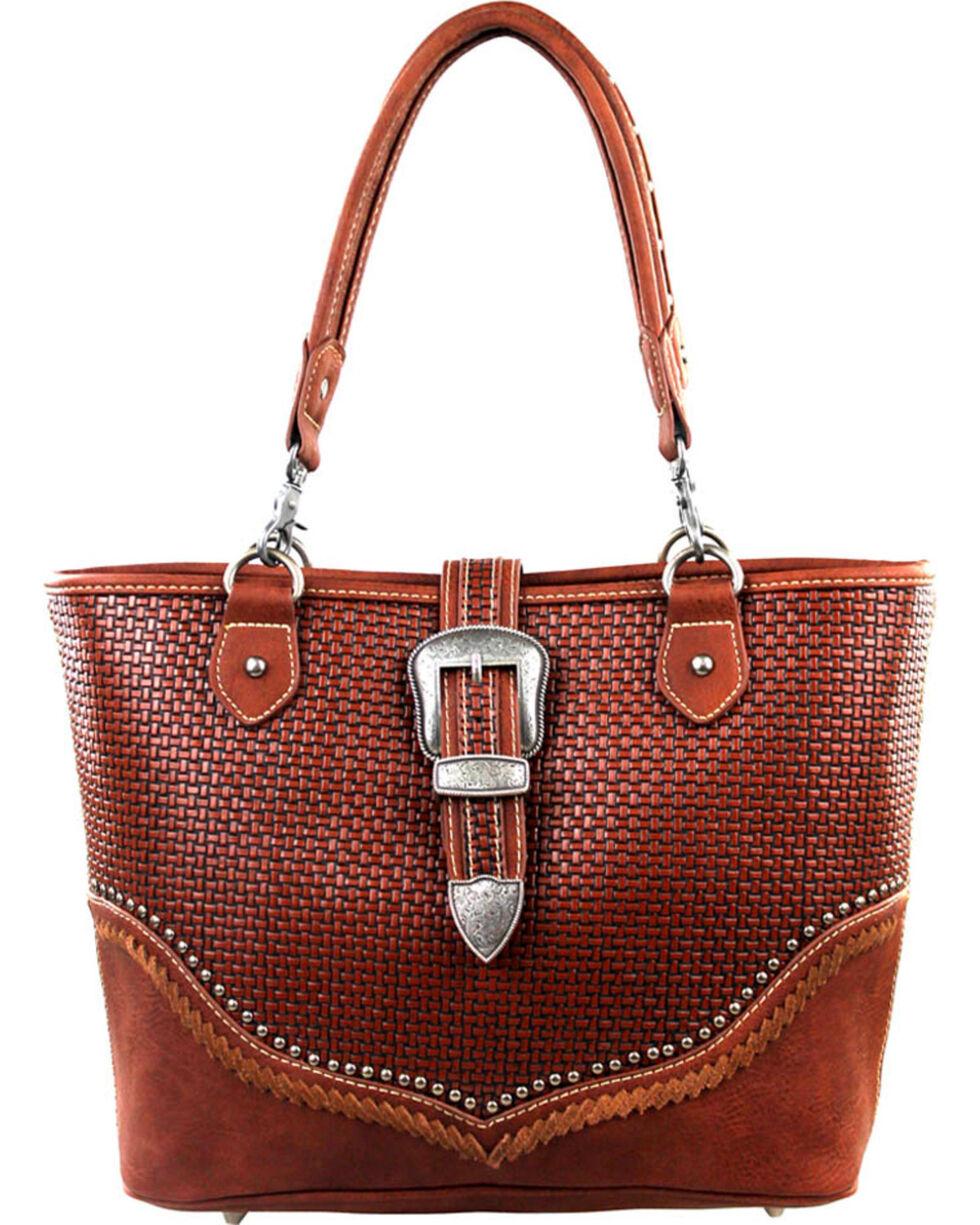 Montana West Trinity Ranch Buckle Design Concealed Handgun Collection Handbag, , hi-res