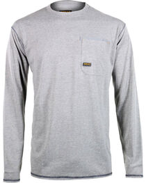 Ariat Men's Rebar Crew Long Sleeve Shirt, , hi-res