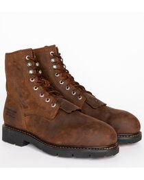 Cody James® Comp Toe Waterproof Kiltie Work Boots , , hi-res